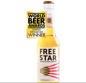 Freestar alcohol free beer: 330ml bottles - Guzzl