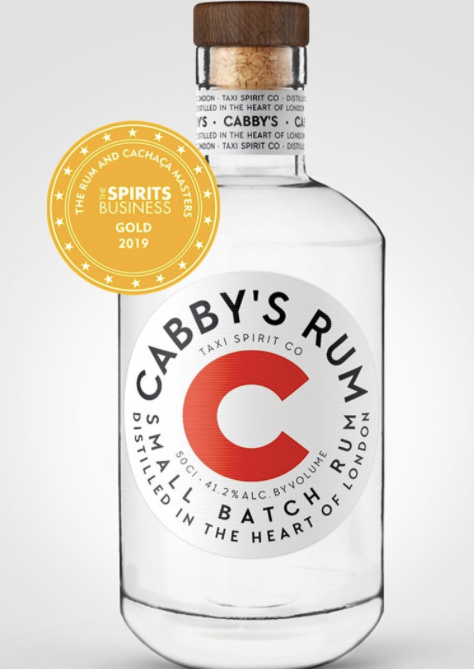 Cabby's rum: 50cl bottle - Guzzl