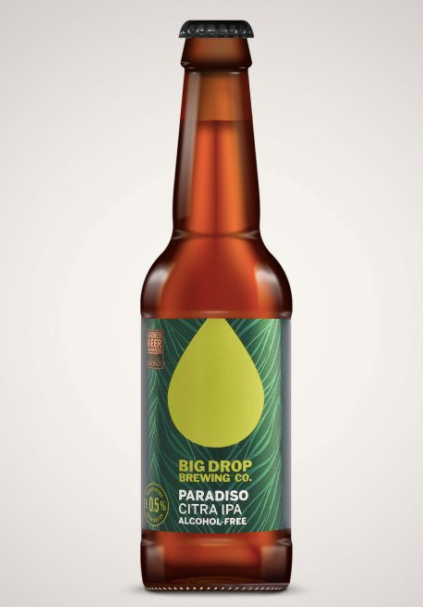 Big Drop Paradiso Alcohol Free Citra IPA - Guzzl