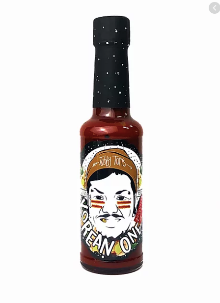 Tubby Tom's The Korean One - Spicy Gochujang Glaze: 150ml bottle - Guzzl