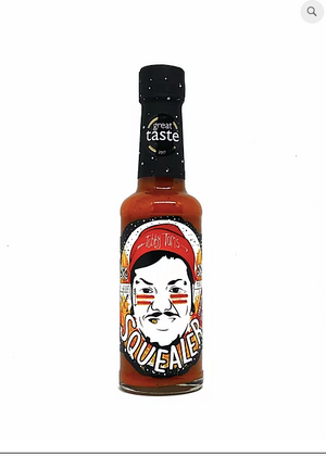 Tubby Tom's original Squealer chilli sauce: 150ml bottle - Guzzl