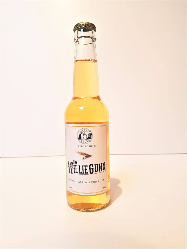 Colcombe House Willie Gun Cider: 330ml bottle - Guzzl