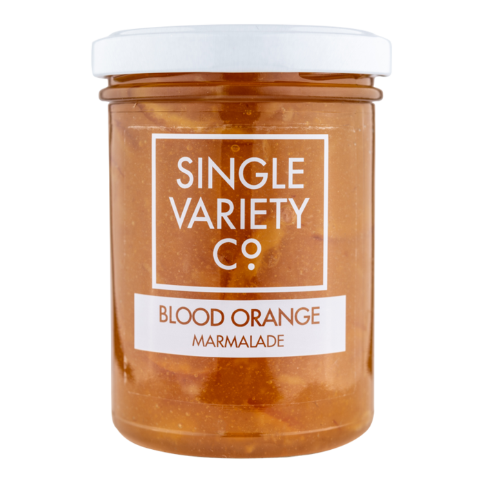 Single Variety Blood Orange Marmalade: 220g jar. - Guzzl
