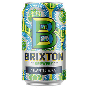 Brixton Brewery Atlantic Pale Ale - 330ml can - Guzzl