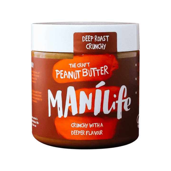 Manilife Deep Roast Peanut Butter: 295g jar - Guzzl