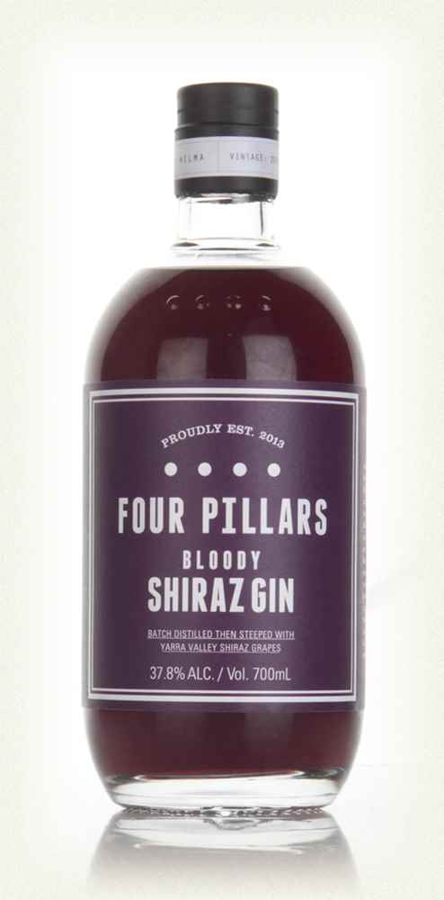 Four Pillars Bloody Shiraz Gin: 70cl bottle - Guzzl