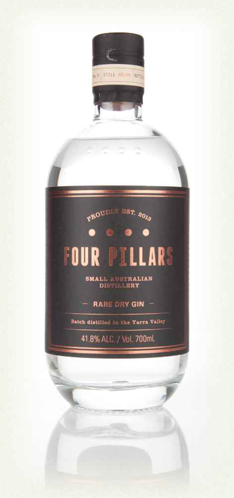 Four Pillars Rare Dry Gin: 70cl bottle - Guzzl