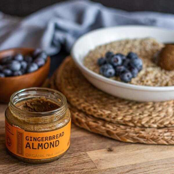 Nutcessity Gingerbread Almond Organic Nut Butter - Guzzl
