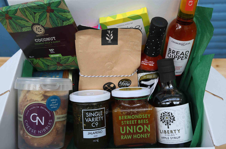 Guzzl Food & Drink Selection Hamper - Sozzl