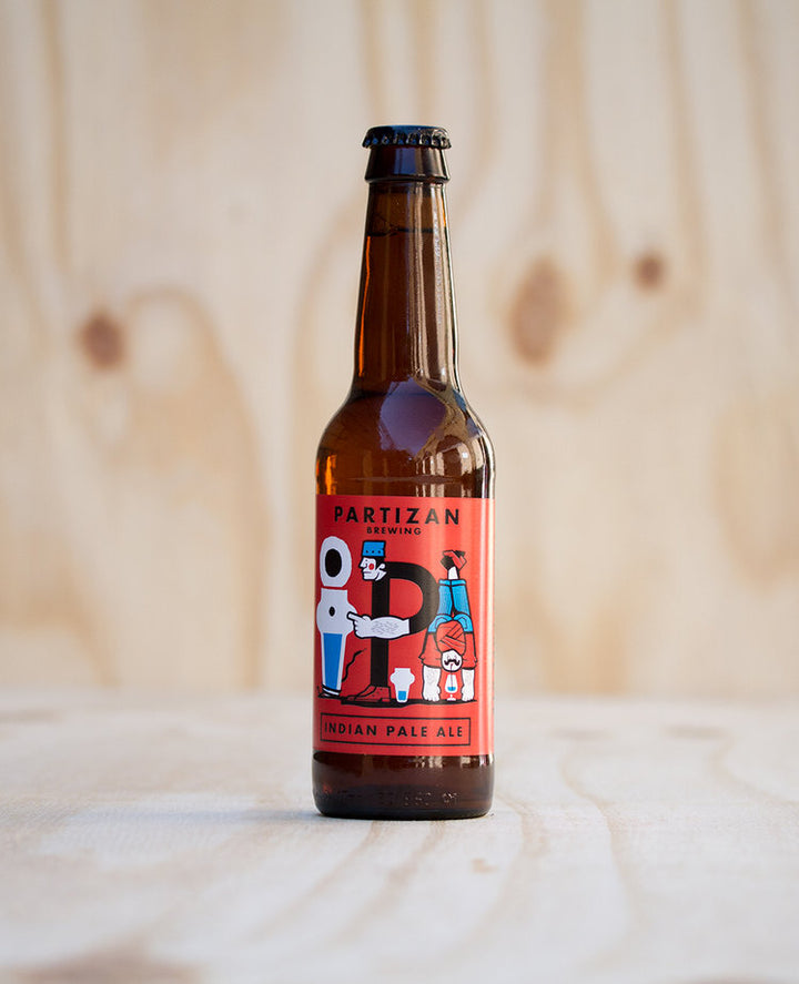 Partizan Brewing IPA: 330ml bottle - Guzzl