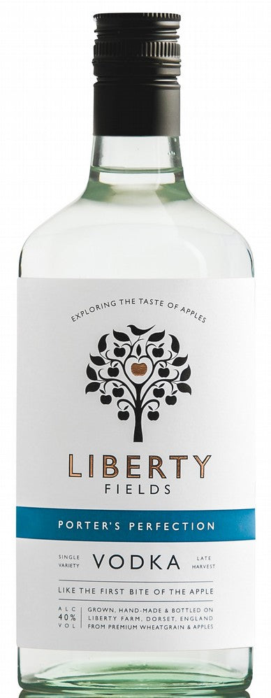 Liberty Fields Porters Perfection Vodka: 70cl bottle - Guzzl