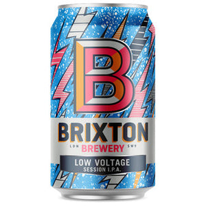 Brixton Brewery Low Voltage Session IPA - 330ml can - Guzzl