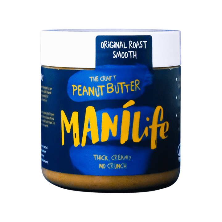 Manilife Original Smooth Peanut Butter: 295g jar - Guzzl