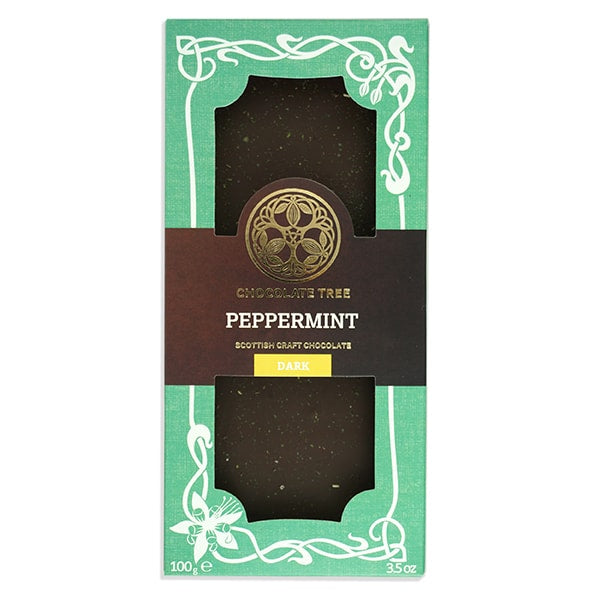 Chocolate Tree Peppermint Dark Chocolate Bar (100g) - Guzzl