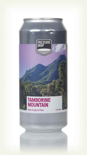 Pressure Drop Tambourine Mountain DDH New England Pale Ale: 440ml - Guzzl