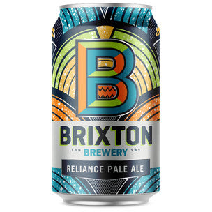 Brixton Brewery Reliance Pale Ale - 330ml can - Guzzl