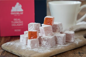 Ozerlat Rose Turkish Delight (200g) - Guzzl