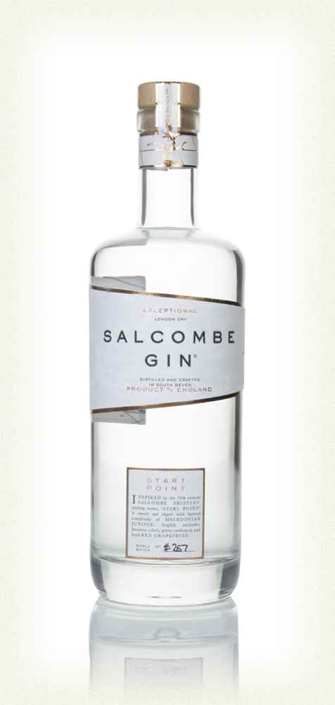 "Salcombe ""Start Point"" Gin: 70cl bottle - Guzzl"