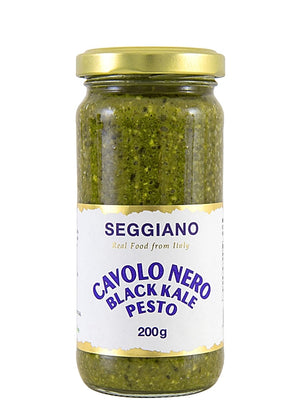 Seggiano Raw Black Kale Pesto (200g) - Guzzl