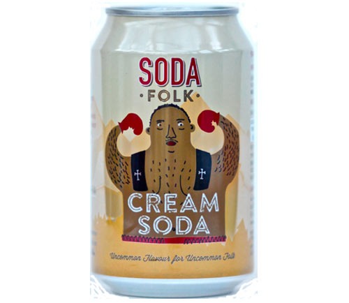 Soda Folk Cream Soda - Guzzl