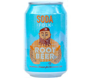 Soda Folk Root Beer - Guzzl