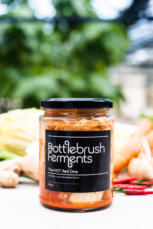 Bottlebrush Kimchi - the hot red one (LOCAL DELIVERY ONLY) - Guzzl