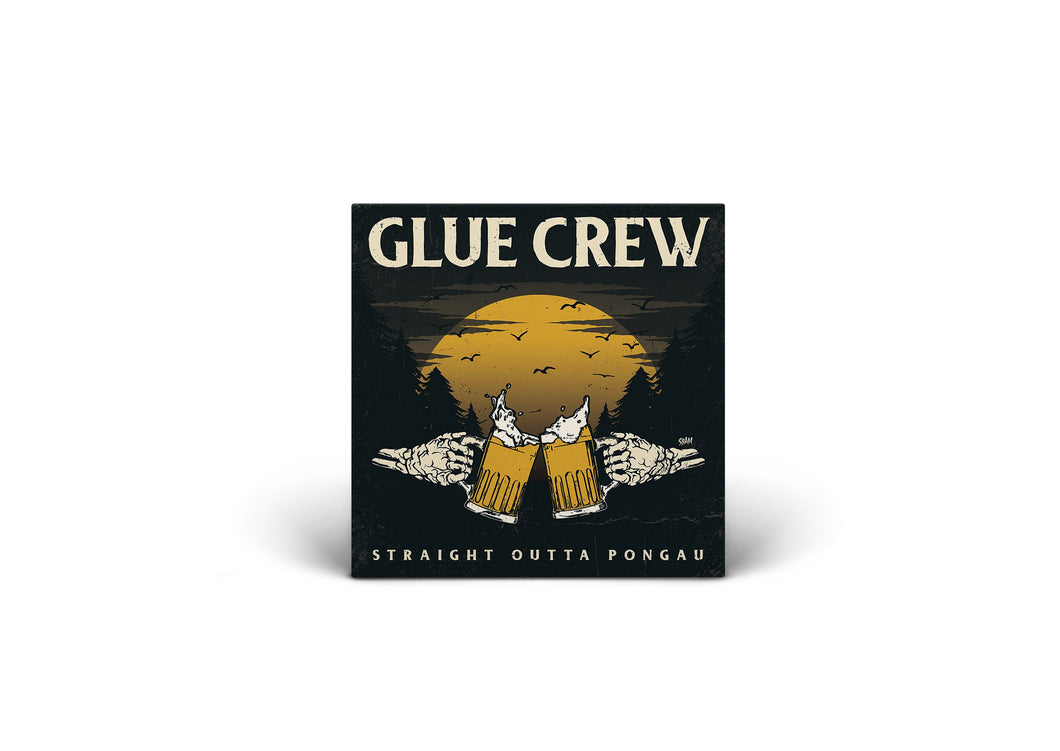GLUE CREW / Straight Outta Pongau (CD)