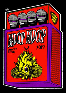 "BAD COP BAD COP ""Matchbox"" Poster"