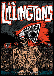 "THE LILLINGTONS ""Skeleton Army"" Poster"