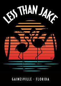 "LESS THAN JAKE ""Florida Sunset"" Poster"