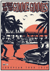 "ME FIRST AND THE GIMME GIMMES ""Beach"" Poster"