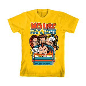 NO USE FOR A NAME / Shirt (Yellow)