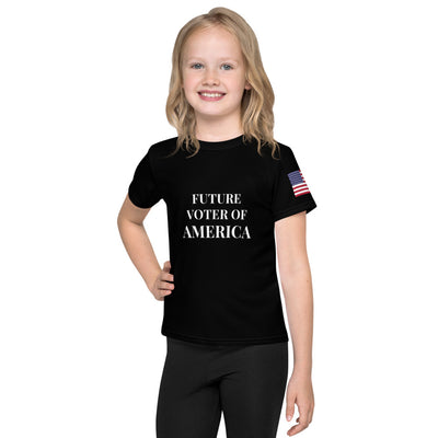 Future Voter of America Kids T-Shirt