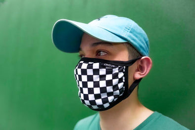 ZREUS CHECKERED MASK