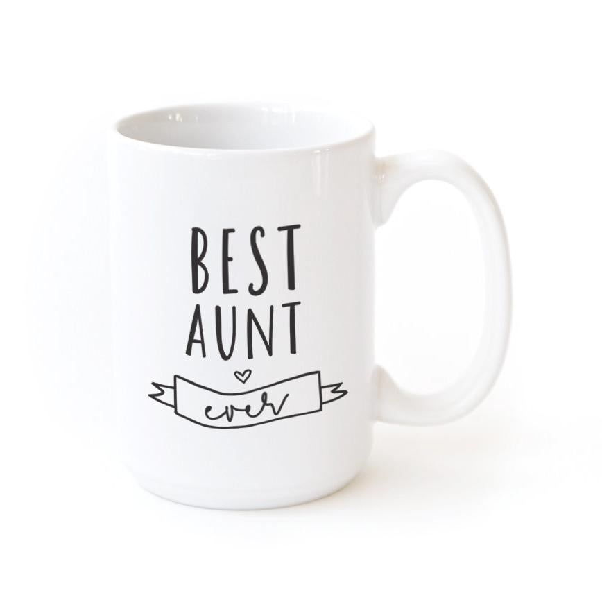 Best Aunt Ever Coffee Mug - Cream and Sugar Coffee House & Brewing Co.