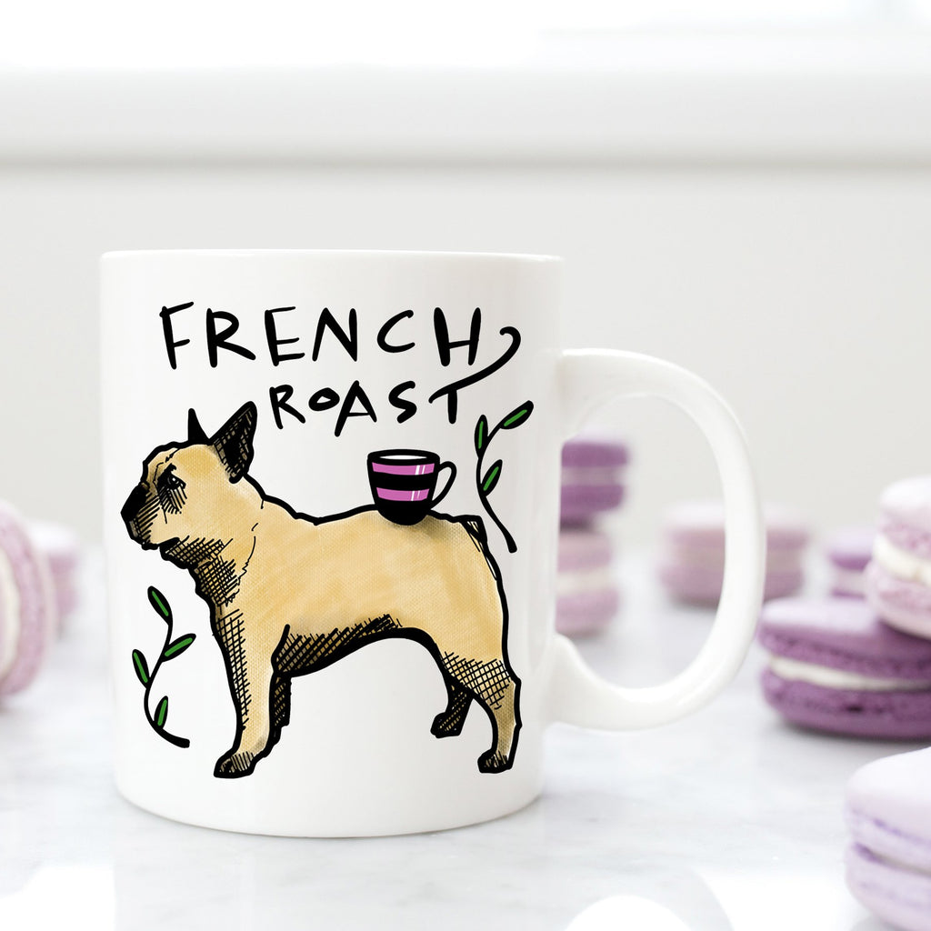French Roast Mug - Cream and Sugar Coffee House & Brewing Co.