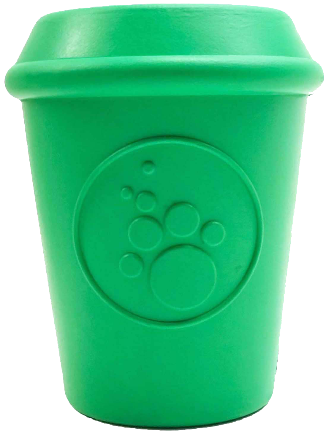 SP Coffee Cup Durable Rubber Chew Toy and Treat Dispenser - Large - - Cream and Sugar Coffee House & Brewing Co.