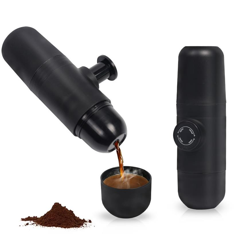 Mini Coffee Machine Handheld Coffee Maker Portable - Cream and Sugar Coffee House & Brewing Co.