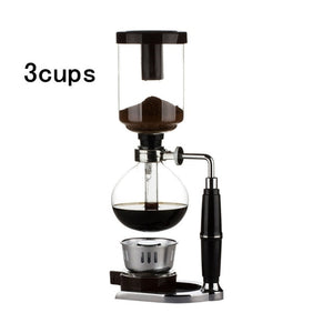 Open image in slideshow, Siphon coffee maker Tea Siphon pot - Cream and Sugar Coffee House & Brewing Co.