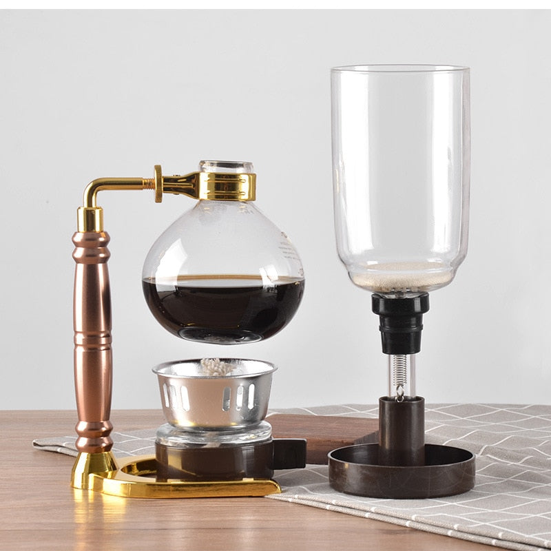 Siphon coffee maker Tea Siphon pot - Cream and Sugar Coffee House & Brewing Co.