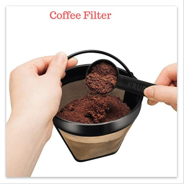 Reusable Cone Coffee Filter Permanent Washable - Cream and Sugar Coffee House & Brewing Co.