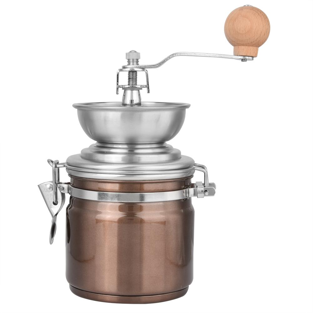 Stainless Steel Manual Coffee Grinder Spice Nuts - Cream and Sugar Coffee House & Brewing Co.