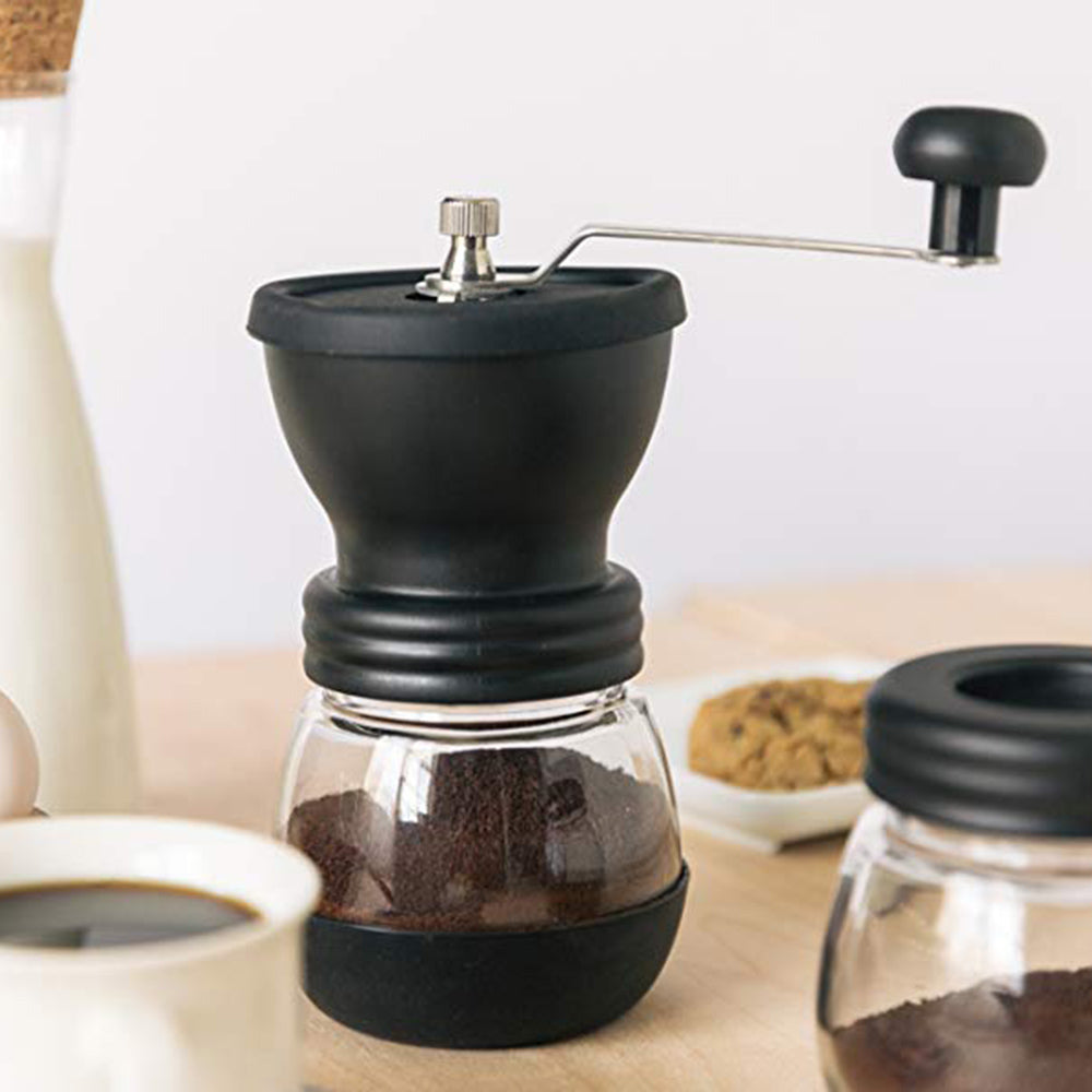 Washable Coffee Bean Grinder Manual Coffee Grinder - Cream and Sugar Coffee House & Brewing Co.