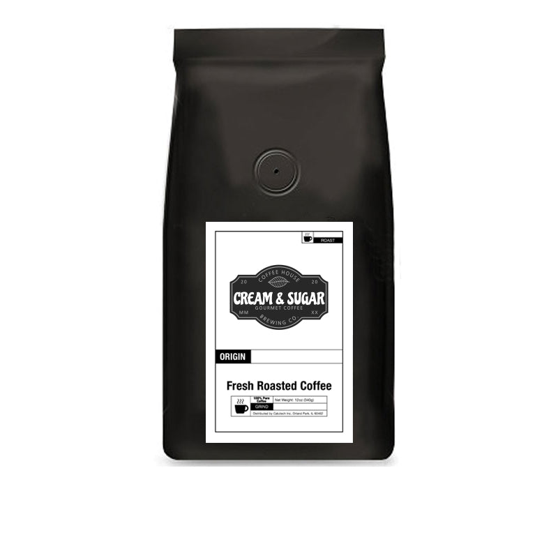 Single Origin Favorites Sample Pack: Brazil, Colombia, Costa Rica, Ethiopia, Honduras, Tanzania - Cream and Sugar Coffee House & Brewing Co.