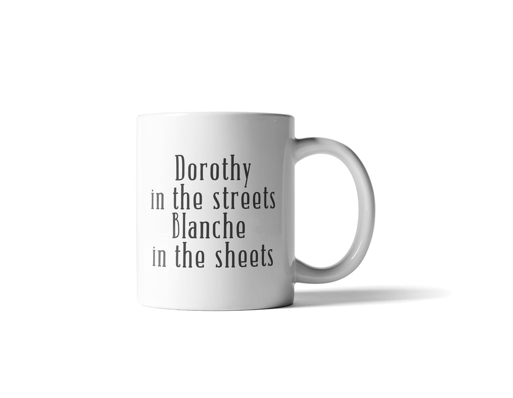 Dorothy In The Streets Mug - 11 Ounce - Cream and Sugar Coffee House & Brewing Co.