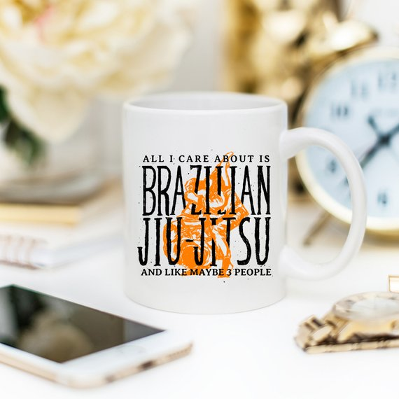 All I Care About Is Brazilian Jiu-Jitsu And Like - Cream and Sugar Coffee House & Brewing Co.