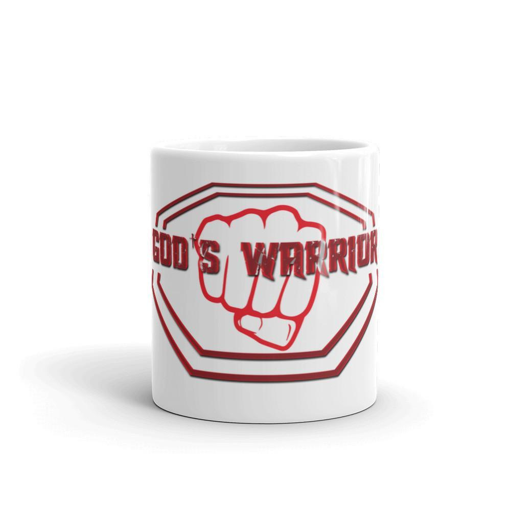 God's Warrior Coffee/Tea Mug - Cream and Sugar Coffee House & Brewing Co.