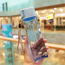 Load image into Gallery viewer, Cool Square water bottles (Frosted/Transparent)