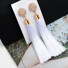 Load image into Gallery viewer, Bohemian Tassel Long Earrings