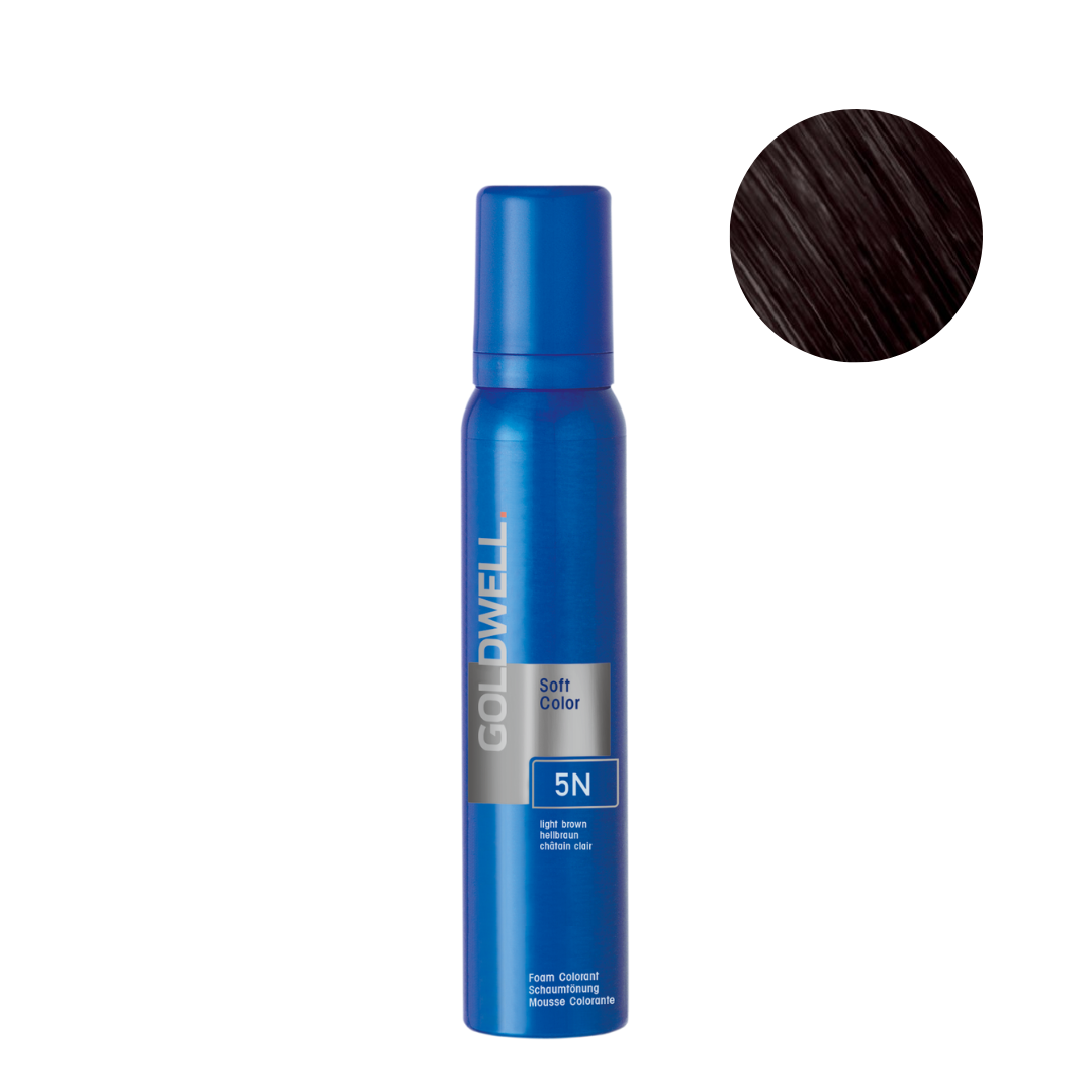Goldwell Colorance Soft Color Foam 120g - 5N Light Brown